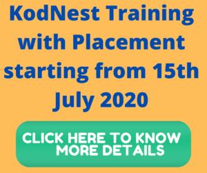KodNest- training